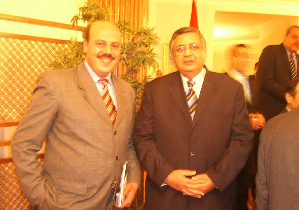 President Of EgAz At Embassy Of Egypt In Baku 2008